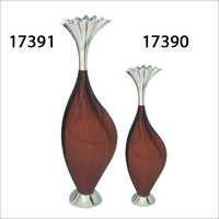 Aluminium Enameled Flower Vases
