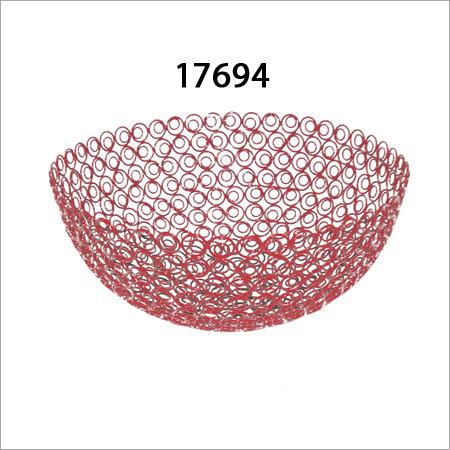 Iron Round Basket