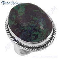 Top Quality Turquoise Gemstone Silver Ring