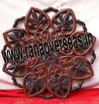 Wooden Wall Panel in Flower Design