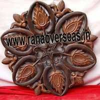 Flower Shape Wooden Wall Panel