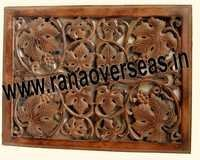Wooden Wall Panel In Square Shape