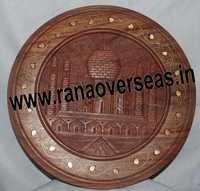 Wooden Wall Panel In Tajmahal Design
