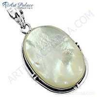 Inspired Shell Silver Pendant