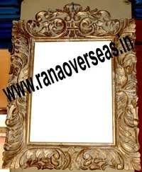 Wooden Undercut Mirror Frame