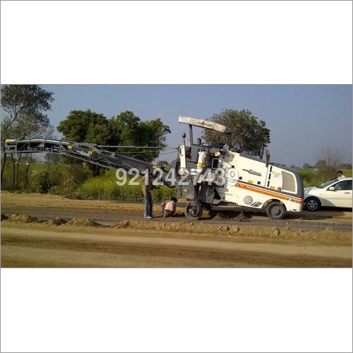 Road Milling Machine Rental