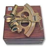 NAUTICAL SEXTANT WITH WOODEN CASE 9