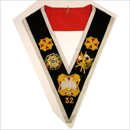 Masonic Collar 32 degree