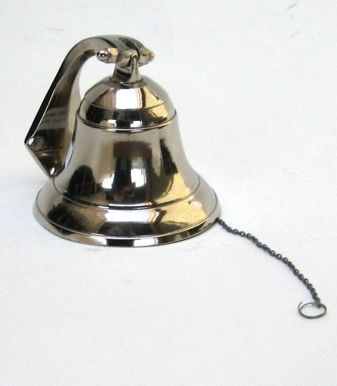 Nautical Aluminum Small Ship Bell