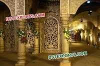 Rajwada Wedding Stage Backdrop Panels