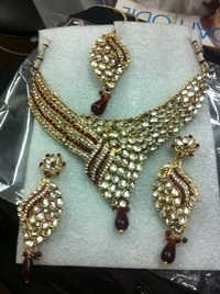 kundan style jewelry, immitation wholeseller from india, high quality designer costume jewellery