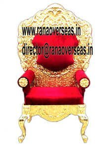 Wedding Throne Maharaja Chairs