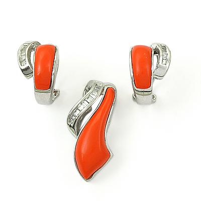 Earings & Pendant Set