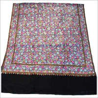 Kashmir Hand Embroidered 100% Pure Wool Shawl