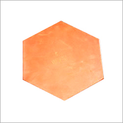 Hexagonal Clay Tile