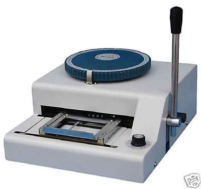 PVC Smart Id Card Embossing Machine