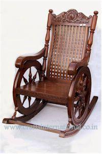 Elegant Wooden Rocking chair