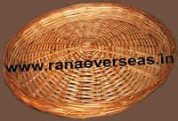 Bamboo Baskets In Round Shape