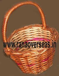 Bamboo Baskets In Hanging Design
