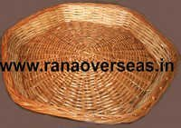 Bamboo Baskets In Hexagonal Shape