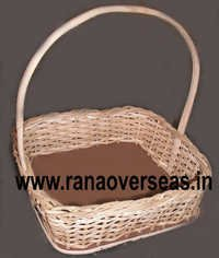 Hanging Bamboo Baskets in Square Shape