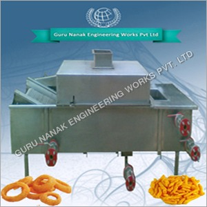 Continuous Kurkure Fryer Machine