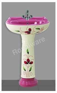 Color Vitrosa Wash Basin Set