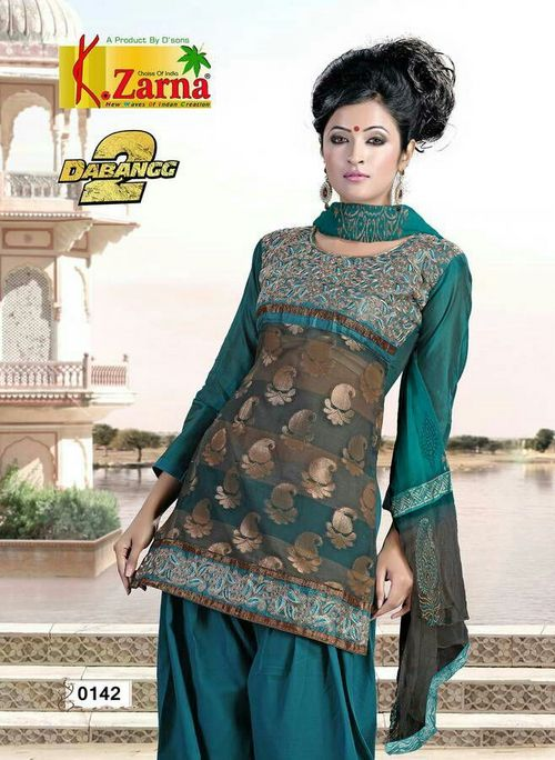 Unstiched Dress Material
