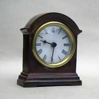 NAUTICAL BRASS WOODEN CLOCK BATTRIES NOT INCLU. 4.5