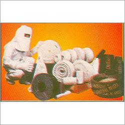 White And Black Asbestos Textile Cloths