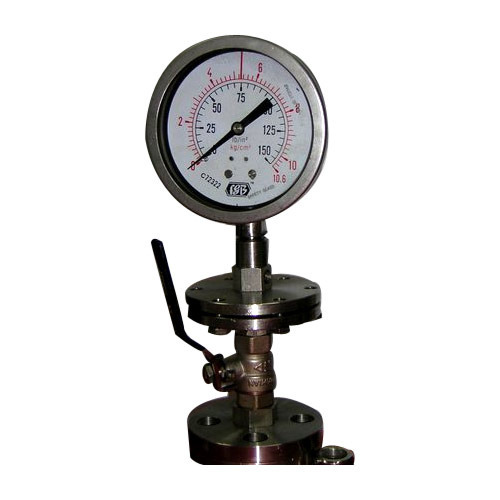 I Section Diaphragm Sealed Pressure Gauges