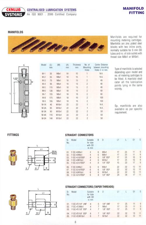 Aluminum Manifold Fittings