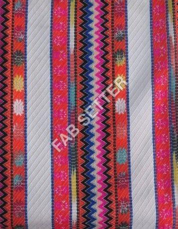 Jacquard Acrylic Fabric