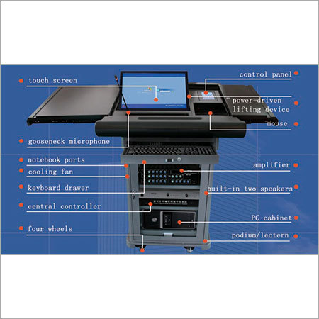 LCD Digital Display Lecterns