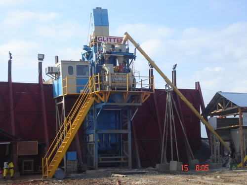 Static Professional Concrete Plant