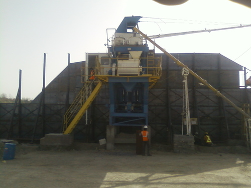Static Concrete Batching Plants