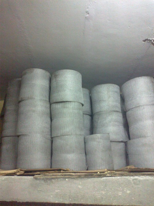 wire mesh knitted rolls
