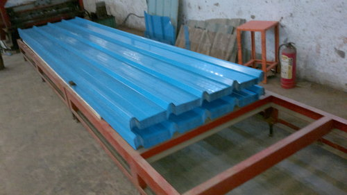 Galvanized colour coated Roofing sheets
