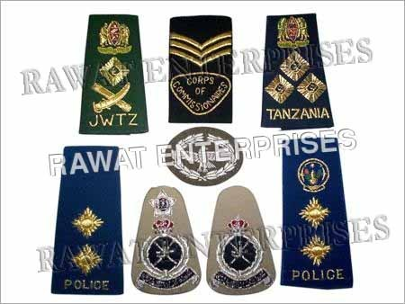 Military Rank Insignias.