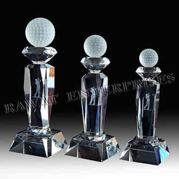 Golf Award Trophy