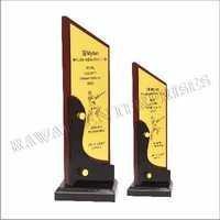 Wooden Trophy 2107