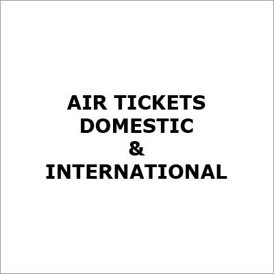Domestic Air Ticketing Services