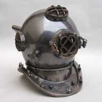 NAUTICAL DIVERS HELMET ANTIQUE FINISH 16