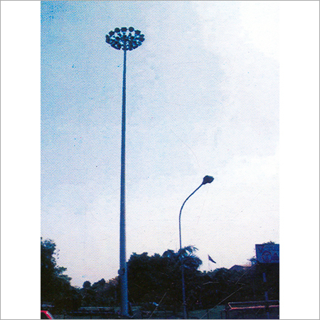 Hexagonal Lighting Poles