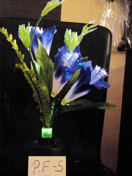 Electronic Plastic Flower