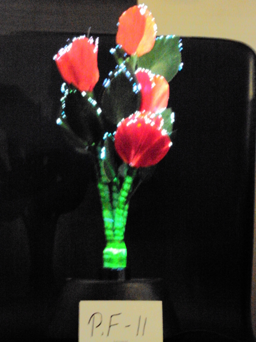 Electronic Plastic Flower
