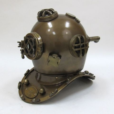 NAUTICAL IRON  U.S. NAVY DIVING HELMET 18