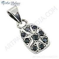 Indian Silver Jewelry ,Wholesale Sterling Silver ,Garnet Gemstone Pendant