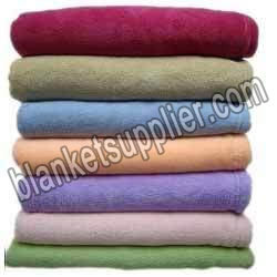 Plain and Embossed Mink Blankets