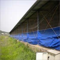 Poultry Tarpaulin Curtains